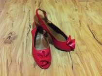 Туфли босоножки красные, в Москве