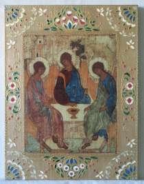 Икона Троица, в Кемерове