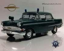 полицейские машины мира №6 OPEL KAPITAN 1960, в Липецке