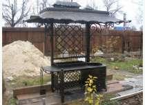Кованый мангал с крышей- ручная ковка!!, в Томске