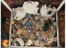 Горка поделочных камней, в Мурманске