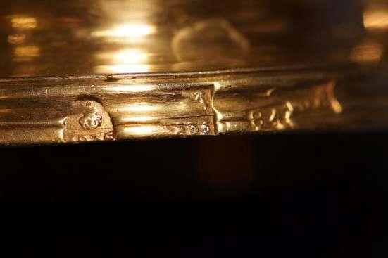 Лампада церковная в стиле Ампир, серебро «84» пробы. Российская Империя, Москва, 1835 год.