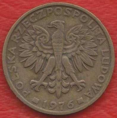 Польша 2 злотых 1976 г. без знака мондвора в Орле Фото 1