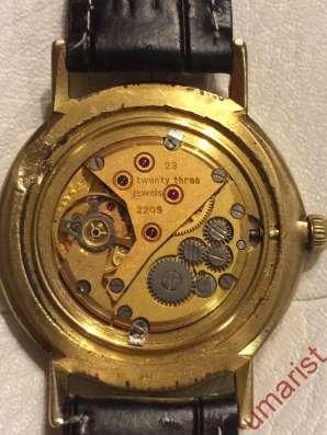 Часы Луч СССР позолота