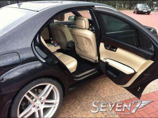 Прокат авто Mercedes S-класс W221 restyling c водителем