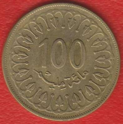 Тунис 100 миллимов 2008 г.