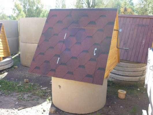 Колодезные домики, осиновый щит (донный фильтр) в г. Боровичи Фото 3