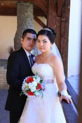 Продаю очень красивую европейскую свадебную платье в г. Алматы Фото 5