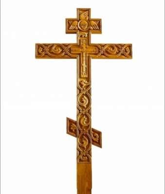 Крест на могилу в Нижнем Новгороде Фото 3