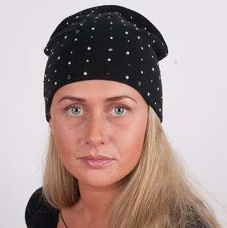 Женская трикотажная шапка модель 444