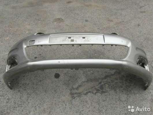 Бампер на Citroen C4 (Ситроен С4)