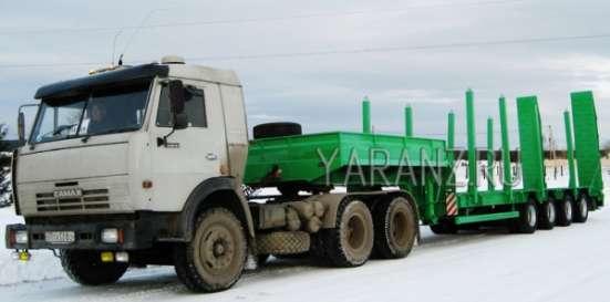 16. Трал низкорамный 50 тонник 11 метров с уширителями в Челябинске Фото 1