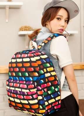 Рюкзак городской Bricks разноцветный цветной в г. Запорожье Фото 3