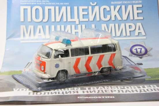 полицейские машины мира №17 V0LKSWAGEN TRANSPORTER T2 в Липецке Фото 1