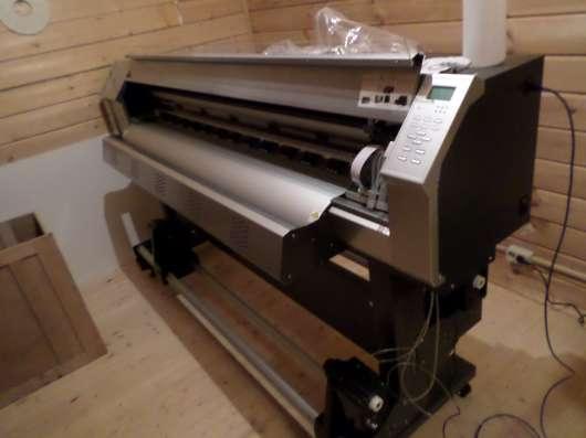 Экосольвентный принтер 1,6,плоттер для печати, широформатный