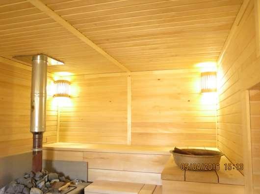 Отделочные работы деревянных домов, бань, саун в Калуге Фото 1