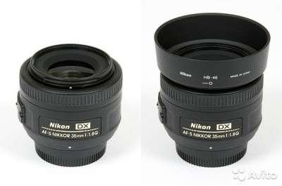 объектив Nikon Nikkor 35 mm 1.8