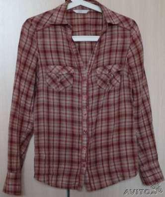 Блуза-рубашка, хлопок, Promod, р-р 44
