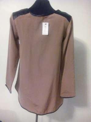 Блузка коричневая в г. Алматы Фото 1