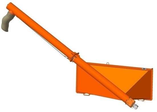Загрузчик сеялок ЗСГ-20 на тракторную телегу 2ПТС-4