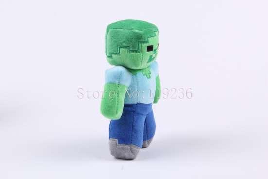 Мягкая игрушка Зомби (Майнкрафт) в Перми Фото 3