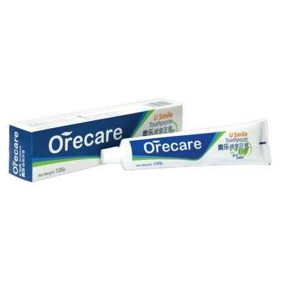 Зубная паста Orecare с экстрактами целебных трав