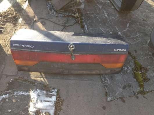 Крышка багажника для Деу Эсперо