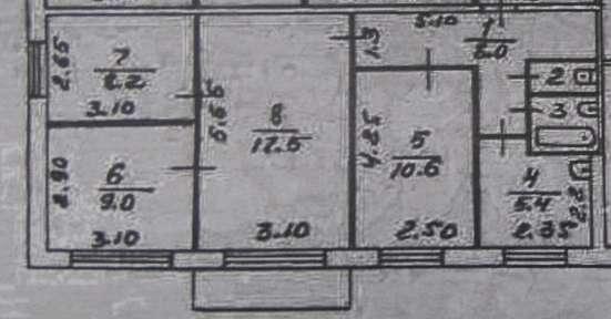 Продам 4-к. Калинина 47А, 63кв. м 2/5П