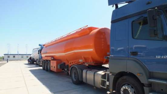 Полуприцеп-цистерна бензовоз 40м3 BONUM