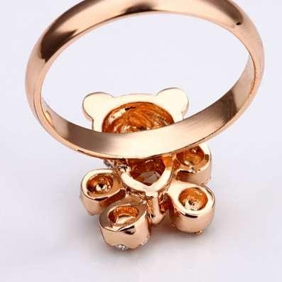 Кольцо (покрытие - розовое золото) в Перми Фото 6