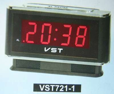 Настольные электронные часы-будильник