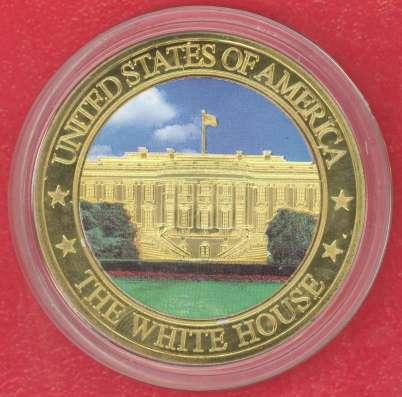 Жетон Медаль США Белый дом