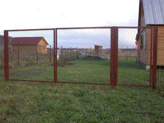 Продаем садовые металлические ворота