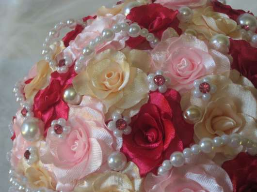 Брошь-букет невесты