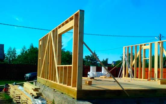 Каркасные дома. Строительство под ключ с нуля. Фундаменты