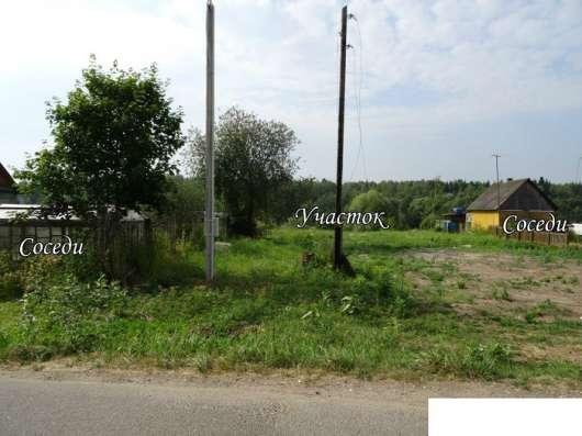 Участок 16 соток в деревне Буриново (заповедник Барсуки)