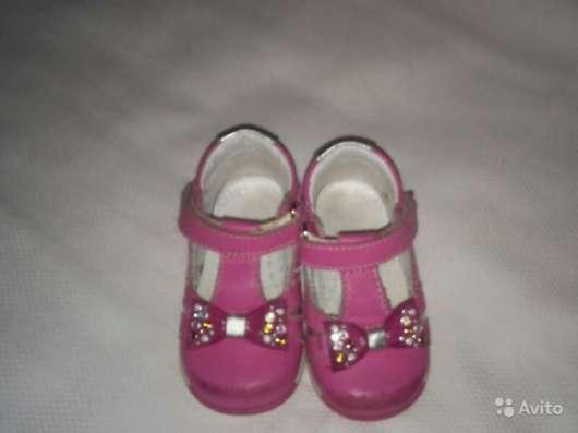 Детские ортопедические туфли для девочки (Италия) в Санкт-Петербурге Фото 2