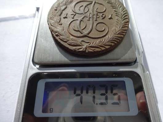 5 копеек 1791 АМ (Аннинск) Екатерина-2 в отличном качестве