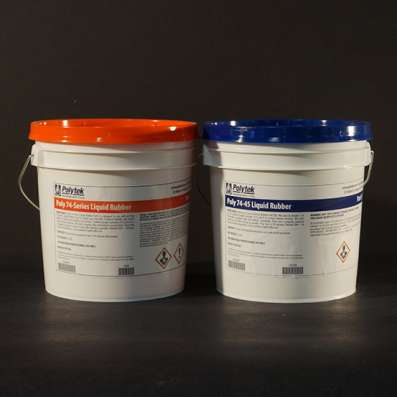 Жидкая резина Polytek 74-29 и Polytek 74-45