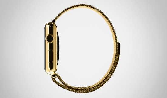 Золотые дубликаты Apple Watch Edition