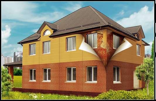Фасадные морозостойкие панели с акриловым покрытием СМЛ/ФЦП