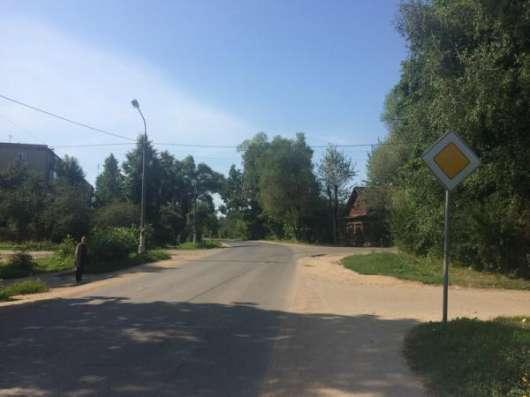 Продается земельный участок 19 соток в гор. Можайск на ул. Российская, 96 км от МКАД по Минскому шоссе.