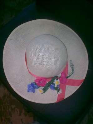 Шляпа летняя в Москве Фото 2