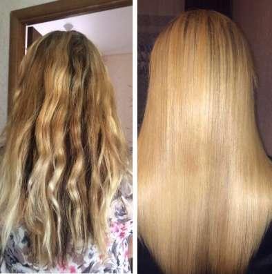 Кератиновое выпрямление волос и Эко Волюм-прикорневой объём!