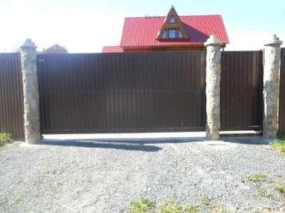 Откатные ворота от 16000 руб. Пирамида-Л