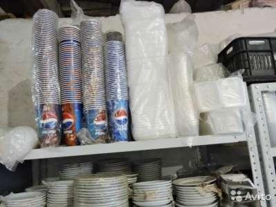 торговое оборудование Одноразовая посуда