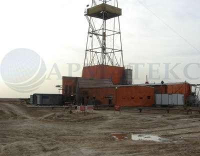Тентовое укрытие буровой установки в г. Самара Фото 1