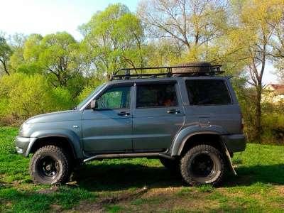 Багажник экспедиционный на УАЗ Патриот производство КИТТ