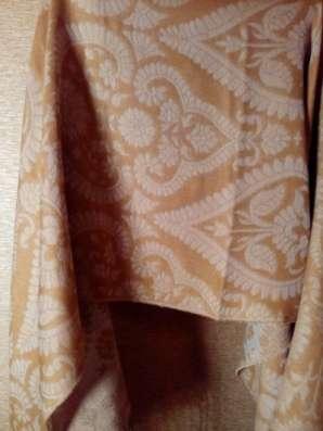шарф-палантин двухсторонний, коричневый в Санкт-Петербурге Фото 3