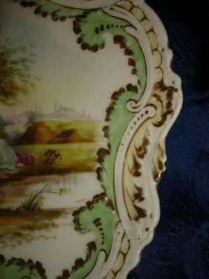 Старин.кабинет.тарелка ВЕНЕРА с АМУРОМ